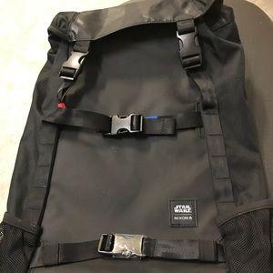 Black star Wars Nixon backpack